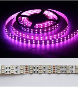 1.3 Открытая светодиодная RGB-лента SMD 5050, 12V, IP33 (120 диодов на метр)