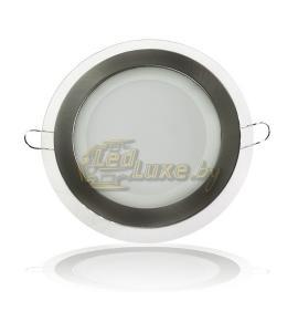Светодиодная панель 12W: 160x160mm, круг (стекло) Артикул: 11740