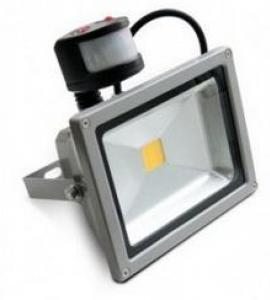 Светодиодный прожектор PIR-30W-CW 30W, 220V, IP65