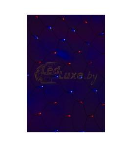 Светодиодная гирлянда Сеть сине-красная 2,5х2,5м, 432 LED Артикул: 75440