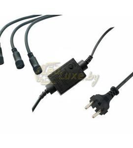 Контроллер для гирлянд на 3 выхода, 340W, 8 программ Артикул: 75430