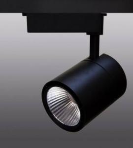 Трековый светодиодный светильник Tk-114 (220V, черный корпус, 50W, однофазный, дневной) 71539