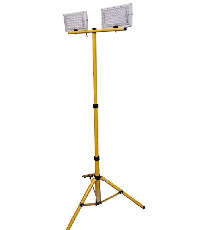 1.5.1 Светодиодный прожектор на штативе LDX-100W (2x50)