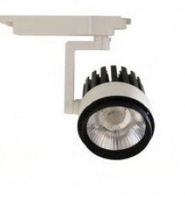 1.1.1 Светодиодный трековый светильник LED 30W (однофазный)