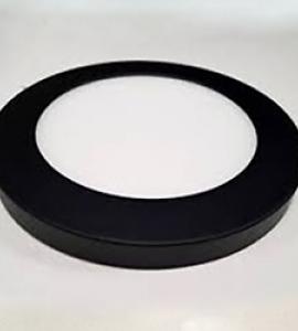 Декоративный накладной корпус, чёрный матовый (d217)