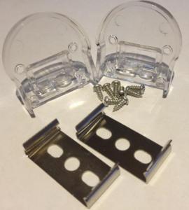 Комплект для светодиодного профиля AN-P31560 (заглушки и крепежи)