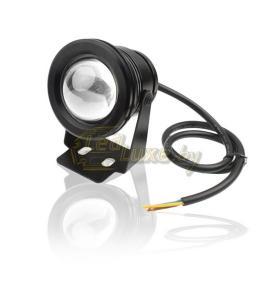 1.04 Светодиодный прожектор с линзой 10W, IP68, холодный белый
