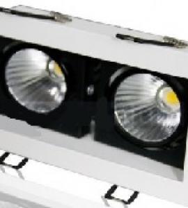 Светодиодный карданный светильник SPOT LED 2х10W