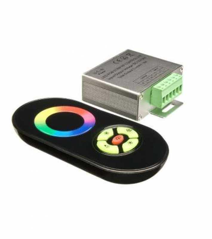 RGB-контроллер CP-RF5B Black (12/24 V, 216/432 W)