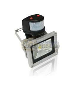 Светодиодный прожектор PIR-10W-CW 10W, 220V, IP65